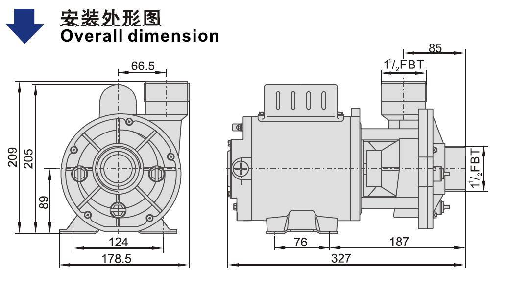 48WTC SPA Pump